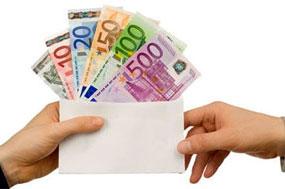 Bankkrediten mit Negativzinsen